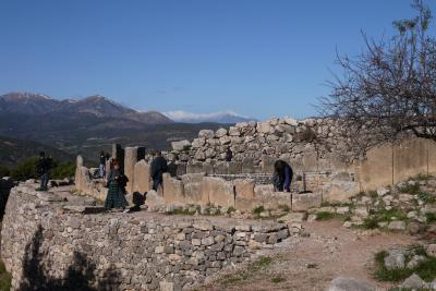 年末年始アテネとその近郊の旅 その7 実は行ったことのあったコリントス運河とミケーネ遺跡