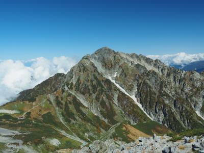 絶景の立山を満喫する山旅3泊4日 その3立山縦走後編~剱岳の威風堂々とした姿に圧倒される~