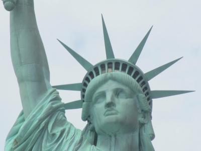 2013 ひとり旅 in New York その4《自由の女神に近づくべくリバティー島上陸》