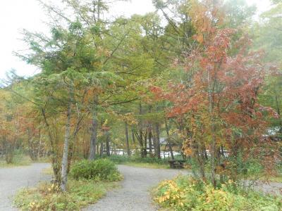 紅葉が始まった上高地へ