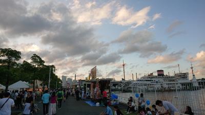 横浜を散策。山下公園、グランモールのフェスを目的に。ついでに色々と寄り道。