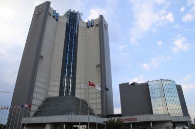 トルコ最後のお宿はシェラトン イスタンブール アタコイ ホテル