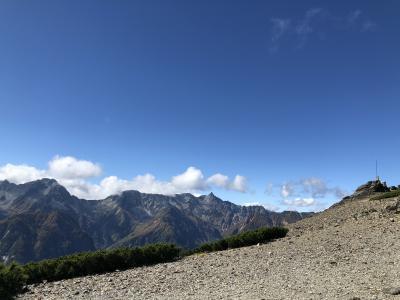 蝶ケ岳へハイキング 1