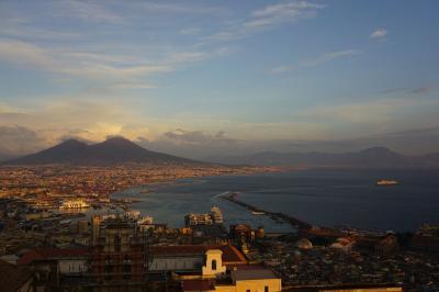 秋のクロアチア、イタリア旅行(3) ナポリ アマルフィ編