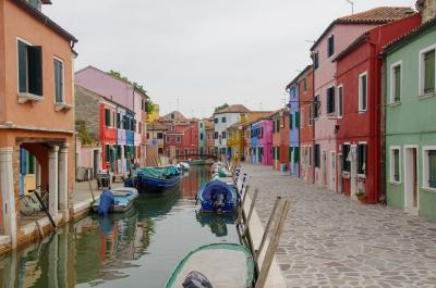 スイス・イタリア オーダーメイド鉄道旅行 (9)ブラーノ島、ベネチア→帰国