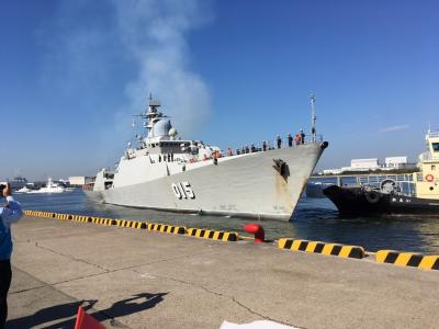 ベトナム海軍堺港入港歓迎行事