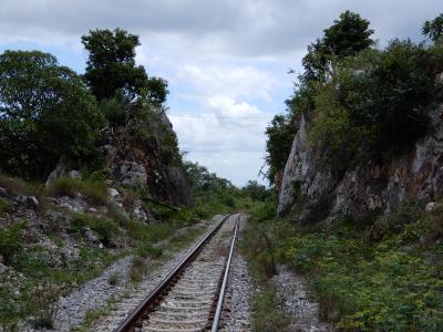 2018年の夏は泰緬鉄道を追い求めてタイへ/レンタルバイクに乗りカンチャナブリ郊外をぶらぶら/その7
