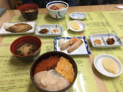 夫婦で函館王道グルメ旅行②