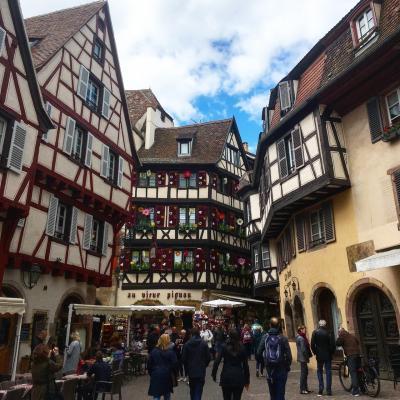 フランスのパリ*アルザス*リヨン9日間の旅③ストラスブール~コルマール
