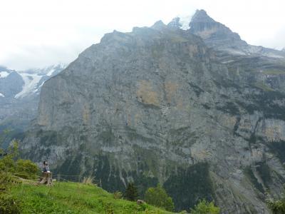 スイス一人旅 美術館めぐりと山(3)ラウターブルンネンとミューレン