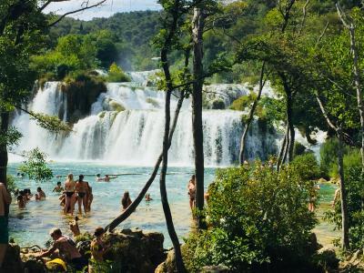夏休み@クロアチア縦断ドライブの旅⑤ クルカ国立公園 ここは桃源郷?
