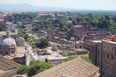 2度目のイタリア♪遺跡に歴史に絶景づくし!~ローマ2日目午前は遺跡めぐり~2018年