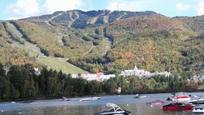 溢れる紅葉を訪ねて「秋のメープル街道7日間②ローレンシャン高原