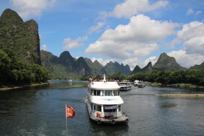 中国新幹線を使った桂林旅行・ちょっぴり広州と香港の旅、その2