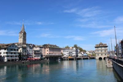 スイスを中心に半周するオヤジ一人旅10。チューリヒ