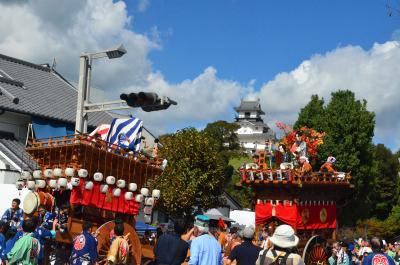 初めて見に来ました掛川大祭 =その1= 2018.10.08
