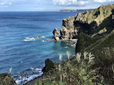 神威岬  そして積丹ブルーの日本海