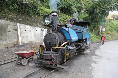 ツアーでGO インド・ブータン 楽烙旅 ②憧れのトイトレイン