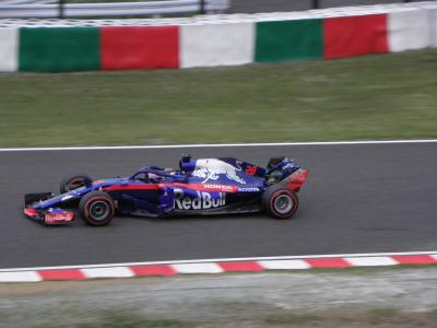 2018年10月 F1日本GP(鈴鹿) 土曜日 フリー走行3、予選