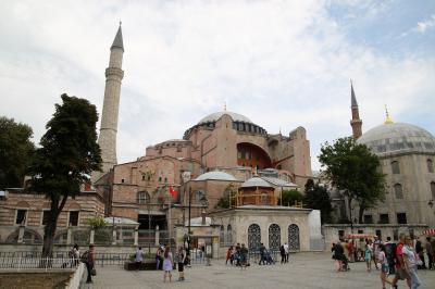 イスタンブール旧市街で世界遺産巡り