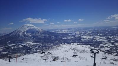 2018年 マイルで 春スキー 3泊4日 くうねるすべる ニセコ・アンヌプリ