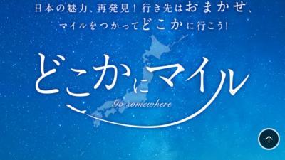 JALどこかにマイルで2度目の日帰りトライ♪宮崎、帯広、高松、三沢のうち三沢になりました!
