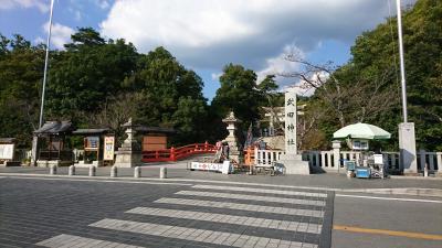 甲府へ行ってきました。今回は、午後3時から時間が空いたので、少し散策しました。①
