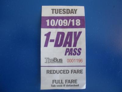 10年前のガイドブックでバスの旅