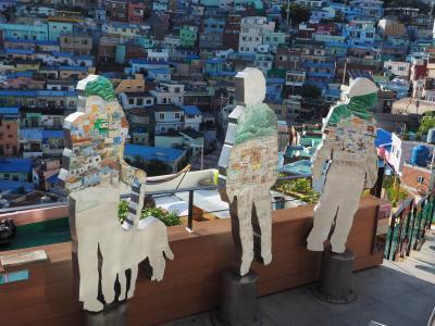 アートでグルメな4日間・2度目の釜山は福岡旅行の合間にエア釜山でひとっ飛び