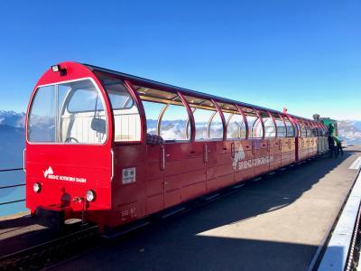 ブリエンツ・ロートホルン鉄道からシェーンビュールまで刺激的な尾根歩き