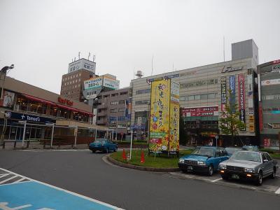 和光市駅南口付近の風景