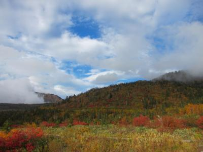 富山県・立山駅から紅葉の弥陀ヶ原と称名滝へ①