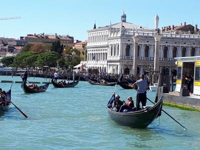 9月のドロミテ①  再訪ベネチア 定番半日コース案内で我慢してもらう