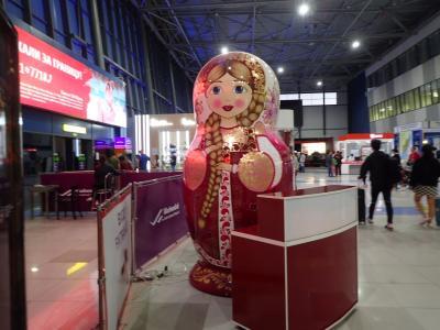 ウラジオストク2☆空港内・SIM・空港バス