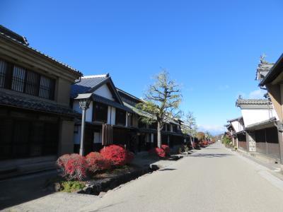 秋はやっぱり松茸 上田に行って食べてきました その1 海野宿