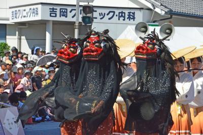 初めて見に来ました掛川大祭 =その2お祭り広場1= 2018.10.08