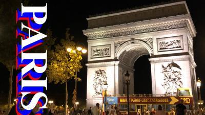 【動画】盆パリ2018 観光地・治安 + カタコンブドパリ