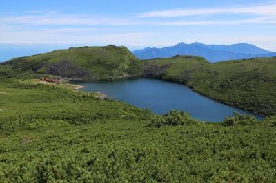 #36 白馬蓮華温泉から白馬岳、大雪渓を下り猿倉へ
