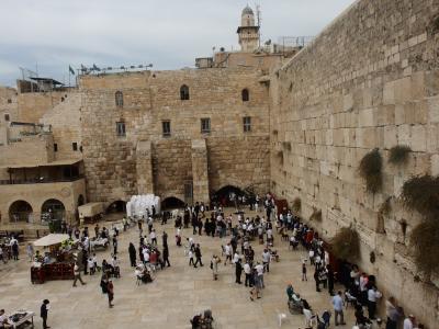 2018年夏中東3か国②イスラエル国境越え、エルサレム旧市街・オリーブ山登山
