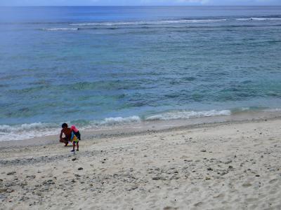 家族5人、海とプールのグアム旅4泊5日③(3日目はイルカと亀とファイファイビーチ!)
