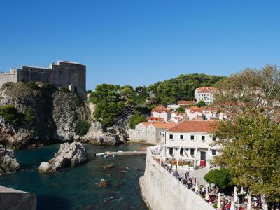秋のクロアチアバス旅!その1・ドブロブニク街歩き