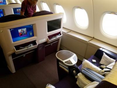 憧れの欧州までビジネスクラス☆マレーシア航空A380・A350ビジネスクラスで行く、KLロンドン経由北欧1(成田〜KL〜ロンドン編)
