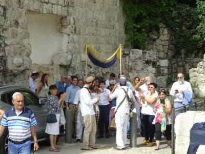 4年振りのヨルダン・1年振りのイスラエル ㉔ ロシア正教会に行ってきました。