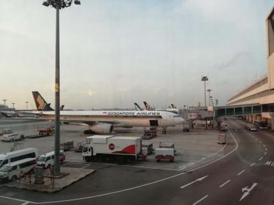 アヤナリゾート満喫の旅①シンガポールエアライン利用しバリ島へ