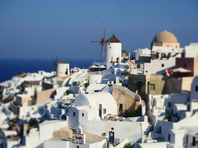 ギリシャ、アテネとエーゲ海クルーズ5:サントリーニ島イア