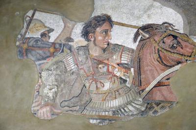 ポンペイ遺跡発掘品が展示されているナポリ国立考古学博物館