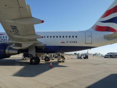 ロンドン BA001便でNYへ/13日間世界一周 Vol.3