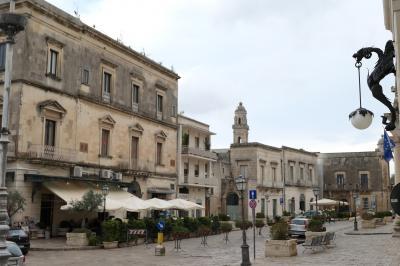 美しき南イタリア旅行♪ Vol.432(第15日)☆美しきマーリエ旧市街:Piazza Aldo Moro♪