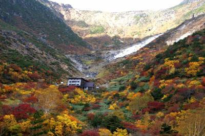 """◆ """"ほんとの空"""" の紅葉 """"安達太良山"""" (鉄山編)"""