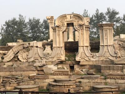 北京 英仏に破壊された宮廷庭園 円明園